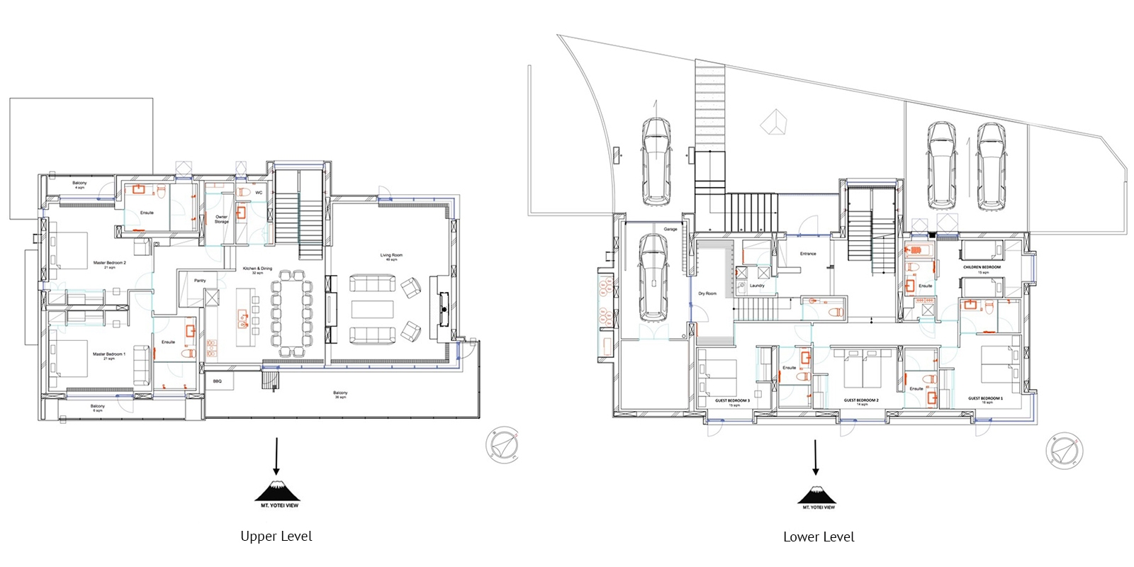 Jun Floor Plan | Hirafu, Niseko | Ministry of Chalets