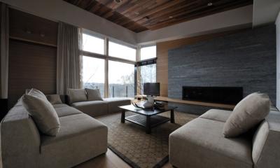 Kasetsu Living Area | Hirafu, Niseko | Ministry of Chalets