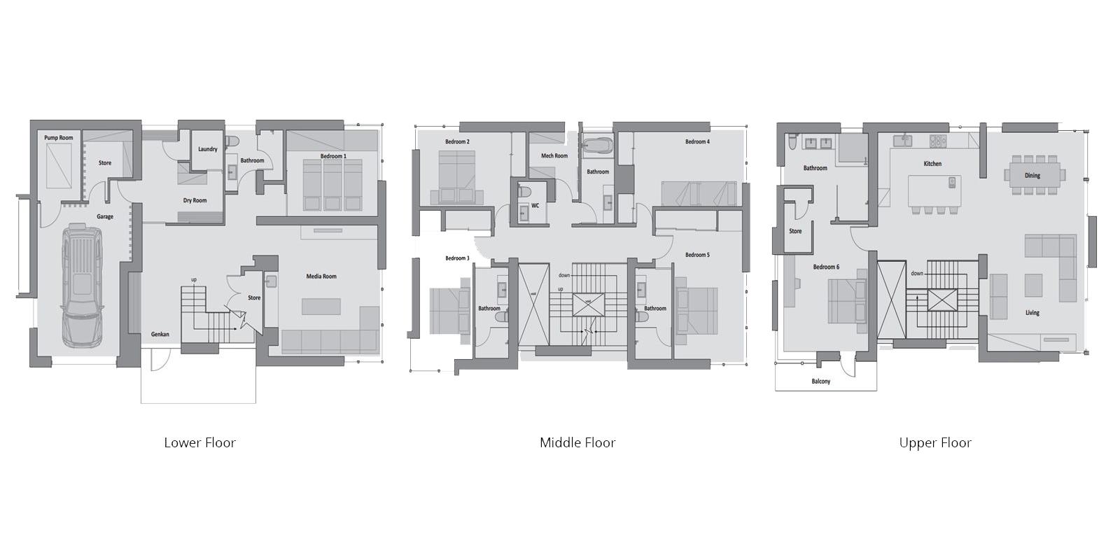 Kasetsu Floor Plan   Hirafu, Niseko   Ministry of Chalets