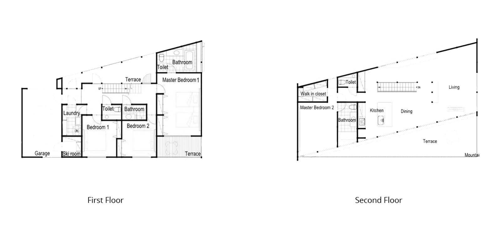 Kawasemi Residence Floor Plan | Hirafu, Niseko | Ministry of Chalets