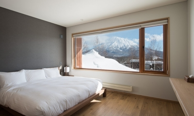 Kazahana Bedroom with Mt Yotei Views | Hirafu, Niseko | Ministry of Chalets