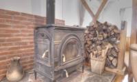 Kisetsu Fireplace Mantel | Hirafu Izumikyo 1, Niseko | Ministry of Chalets