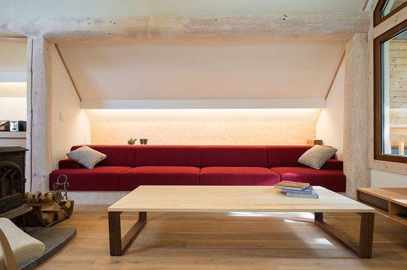 Koho Living Room with Seating | Hirafu, Niseko | Ministry of Chalets