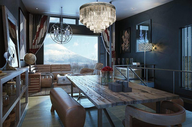 Millesime Living And Dining Area | Lower Hirafu, Niseko | Ministry of Chalets