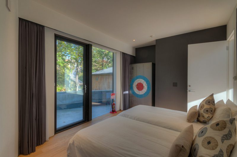 Millesime Twin Bedroom Side View | Lower Hirafu, Niseko | Ministry of Chalets