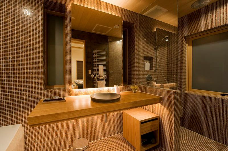 Miyabi Bathroom with Shower | Hirafu, Niseko | Ministry of Chalets