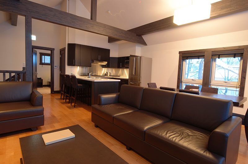 Mojos Dining and Living Area | Hirafu, Niseko | Ministry of Chalets