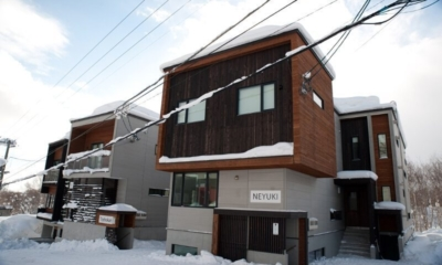 Neyuki Exterior | Middle Hirafu Village, Niseko | Ministry of Chalets