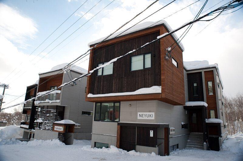Neyuki Exterior   Middle Hirafu Village, Niseko   Ministry of Chalets