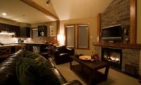 Niseko Creekside Living Room | Hirafu Izumikyo 1, Niseko | Ministry of Chalets