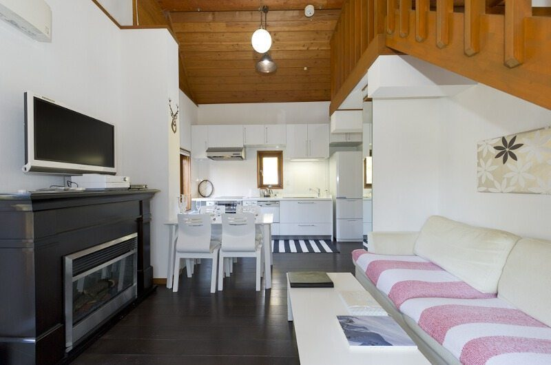 Nupuri Cottage Living Room | Lower Hirafu Village, Niseko | Ministry of Chalets