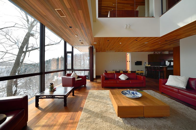 Panorama Living and Dining Area | Lower Hirafu Village, Niseko | Ministry of Chalets