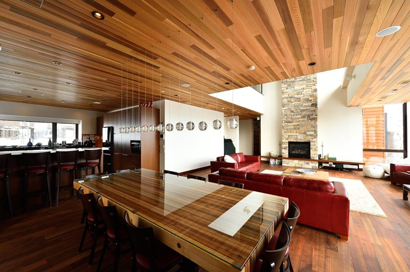 Panorama Indoor Living and Dining Area | Lower Hirafu Village, Niseko | Ministry of Chalets