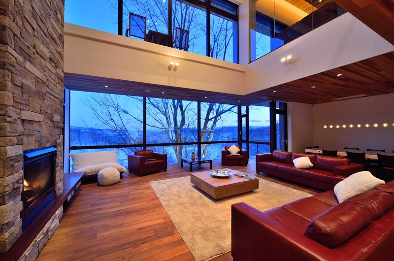 Panorama Indoor Living Area | Lower Hirafu Village, Niseko | Ministry of Chalets