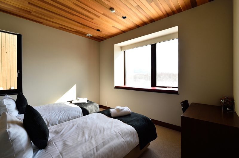 Panorama Twin Beds with Study Table | Lower Hirafu Village, Niseko | Ministry of Chalets