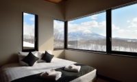 Panorama Bedroom with Mountain View | Lower Hirafu Village, Niseko | Ministry of Chalets