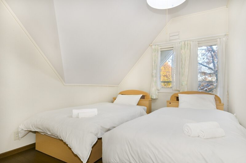 Powderhound Lodge Twin Bedroom | Upper Hirafu Village, Niseko | Ministry of Chalets