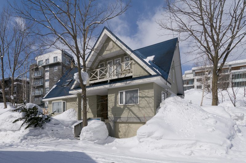 Powderhound Lodge Outdoor View | Upper Hirafu Village, Niseko | Ministry of Chalets