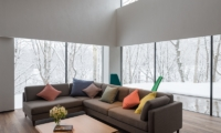 Setsu-in Living Area Outside View | Hanazono, Niseko | Ministry of Chalets