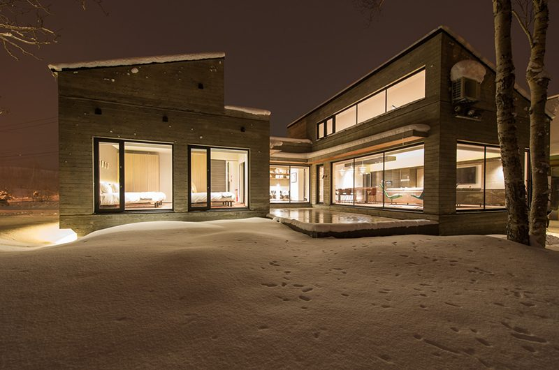 Setsu-in Night View | Hanazono, Niseko | Ministry of Chalets