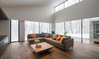 Setsu-in Living Room View | Hanazono, NIseko | Ministry of Chalets
