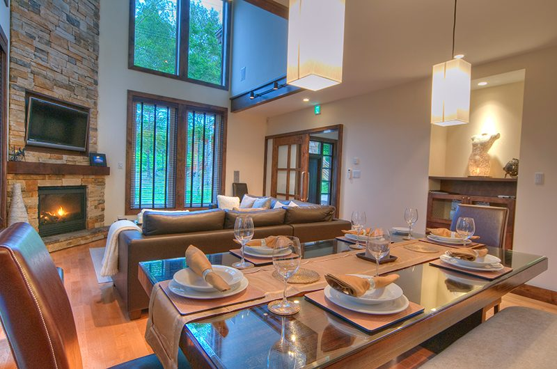 Shika Dining and Living Area | Hirafu, Niseko | Ministry of Chalets