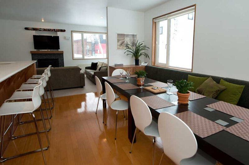 Shirokuma Chalets Dining Area | Middle Hirafu Village, Niseko | Ministry of Chalets