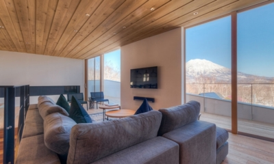 Silver Dream Living Room | Hirafu, Niseko | Ministry of Chalets