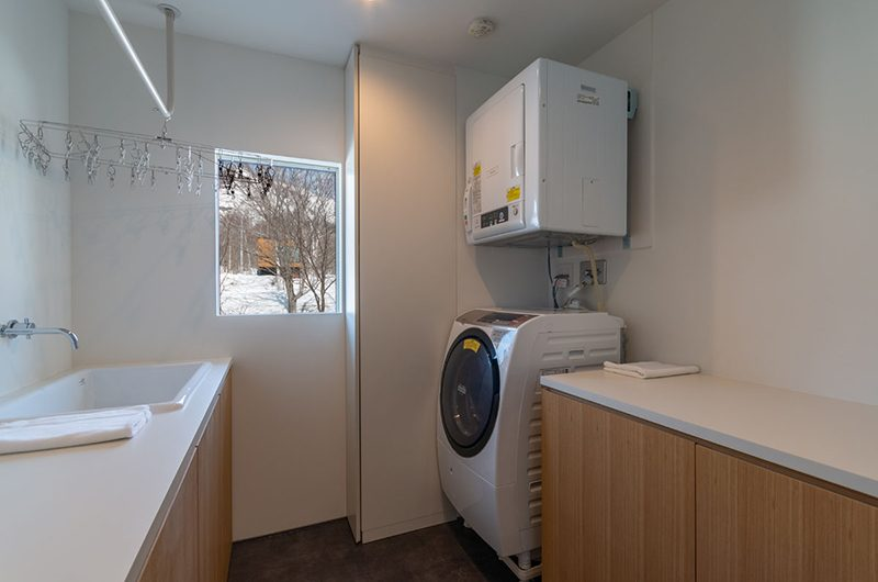 Silver Dream Laundry Area | Hirafu, Niseko | Ministry of Chalets