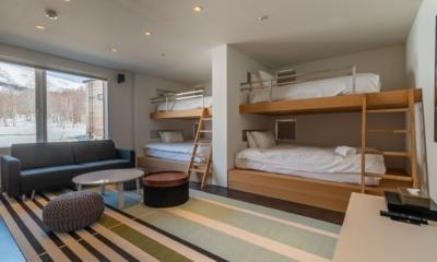Silver Dream Bunk Beds Area | Hirafu, Niseko | Ministry of Chalets
