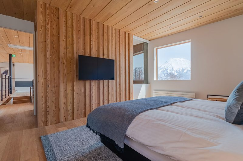 Silver Dream Bedroom Area with TV | Hirafu, Niseko | Ministry of Chalets