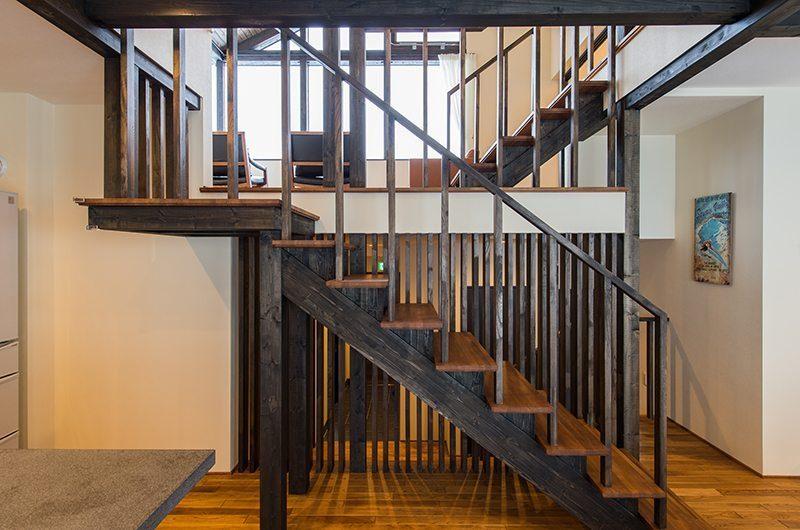 Tahoe Lodge Staircase | Hirafu, Niseko | Ministry of Chalets
