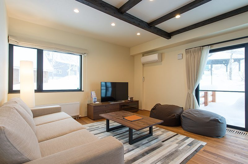 Tahoe Lodge Living Area | Hirafu, Niseko | Ministry of Chalets