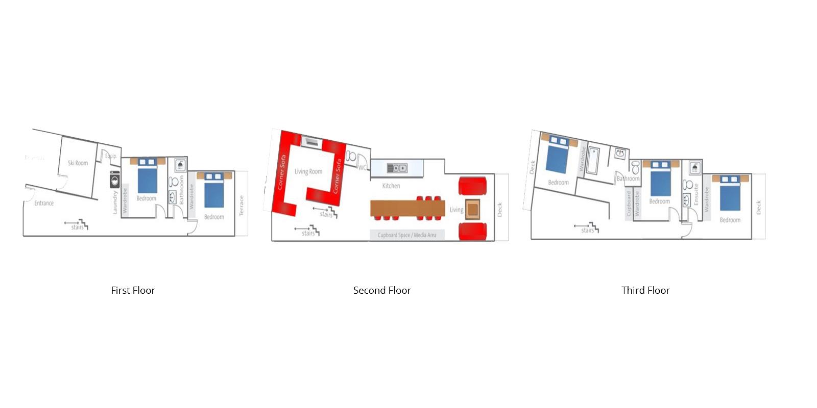 Tamo Floor Plan | Hirafu, Niseko | Ministry of Chalets