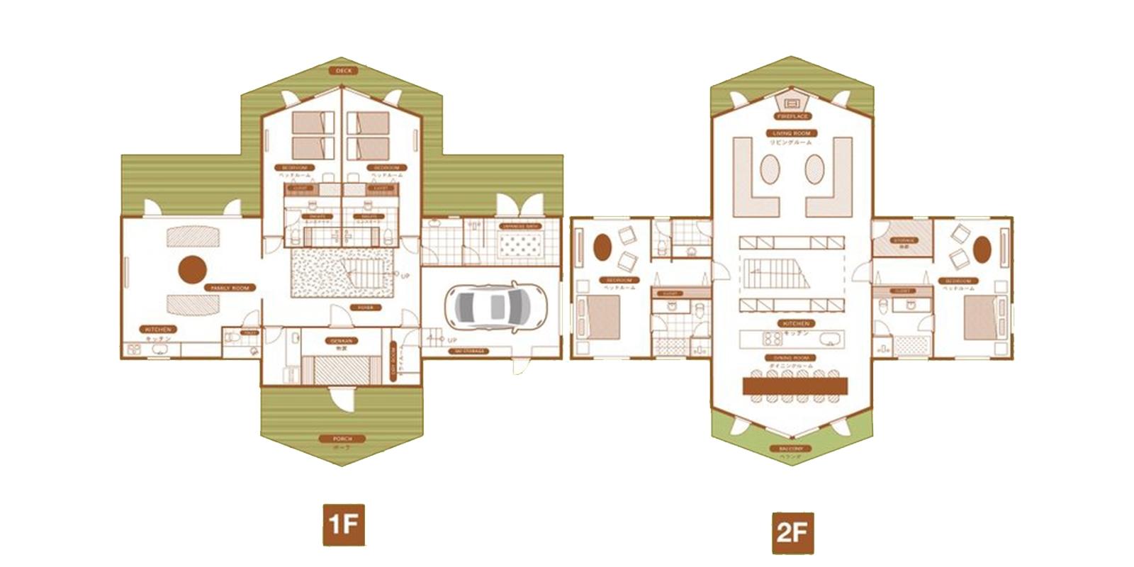 The Orchards Niseko Goyomatsu Floor Plan | St Moritz, Niseko | Ministry of Chalets