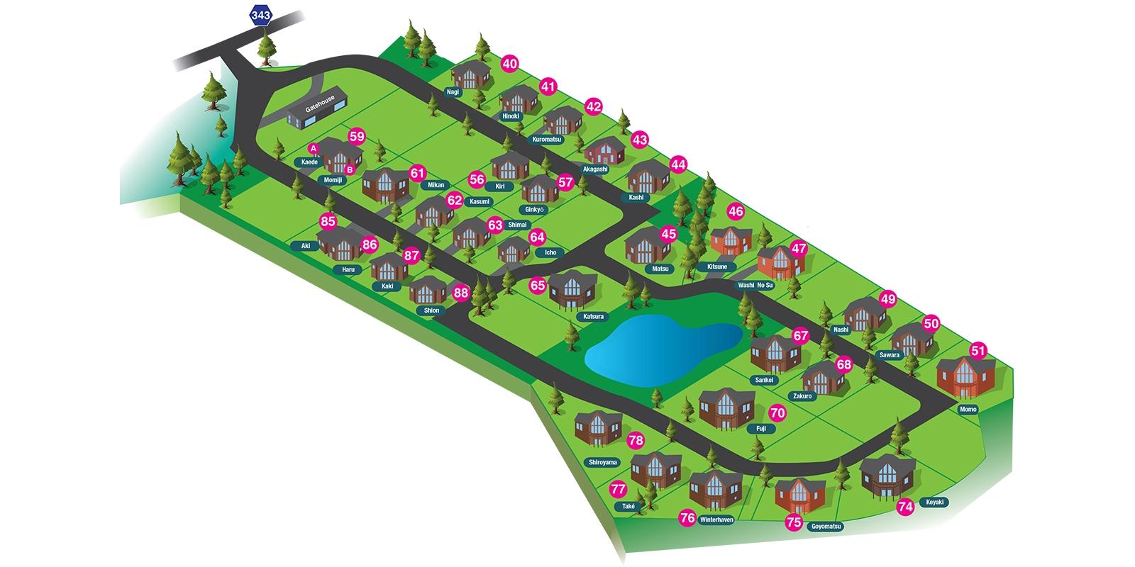 The Orchards Niseko Floor Plan | St Moritz, Niseko | Ministry of Chalets