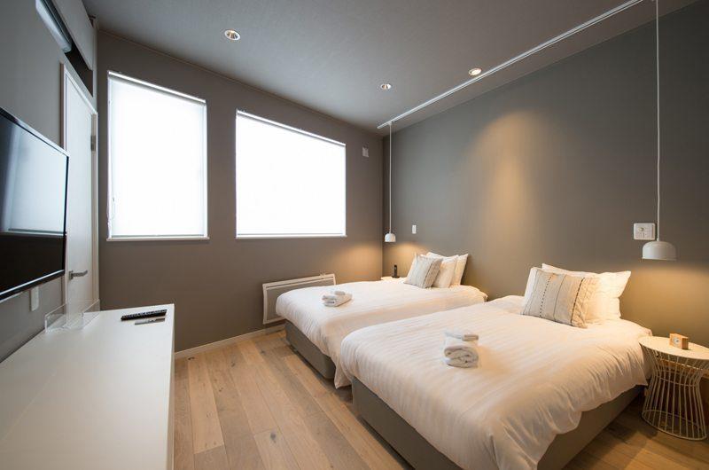 The Orchards Niseko Twin Bedroom | Hirafu, Niseko | Ministry of Chalets