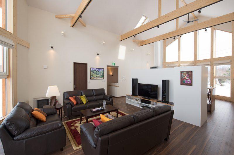 The Orchards Niseko Akagashi Living Room | St Moritz, Niseko | Ministry of Chalets