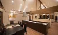 The Orchards Niseko Goyomatsu Kitchen and Dining Area | St Moritz, Niseko | Ministry of Chalets