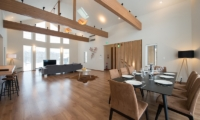 The Orchards Niseko Hinoki Indoor Dining Area | St Moritz, Niseko | Ministry of Chalets