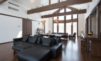 The Orchards Niseko Kaki Living and Dining Area | St Moritz, Niseko | Ministry of Chalets