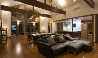 The Orchards Niseko Kaki Living and Kitchen Area | St Moritz, Niseko | Ministry of Chalets