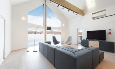 The Orchards Niseko Kitsune Living Area | St Moritz, Niseko | Ministry of Chalets