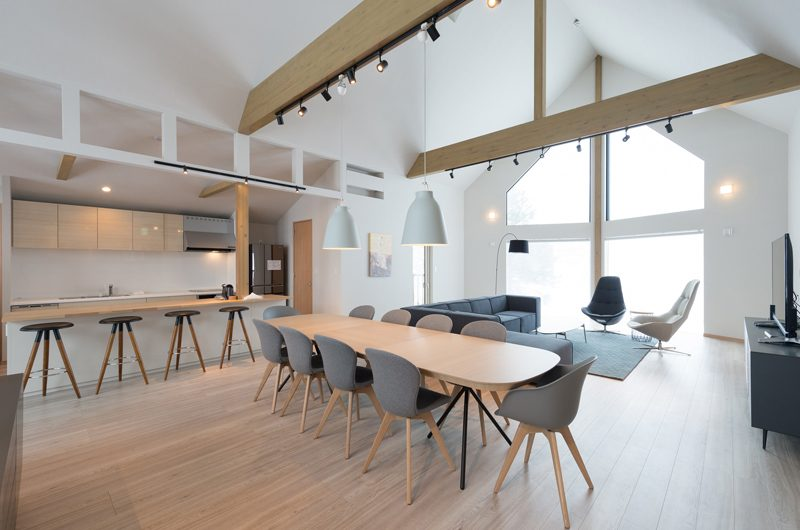 The Orchards Niseko Kitsune Living and Dining Area | St Moritz, Niseko | Ministry of Chalets