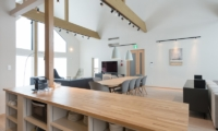 The Orchards Niseko Kitsune Kitchen and Dining Area | St Moritz, Niseko | Ministry of Chalets