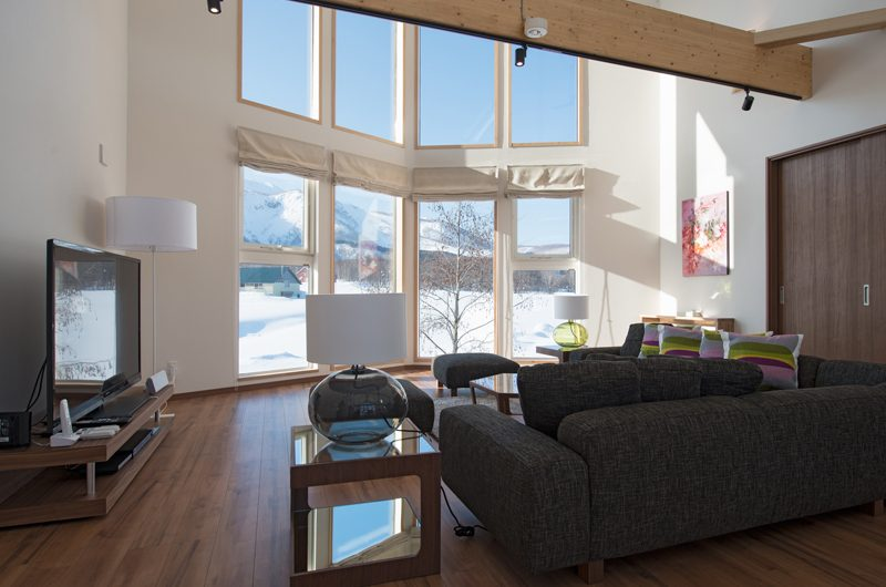 The Orchards Niseko Kuromatsu Living Area | St Moritz, Niseko | Ministry of Chalets