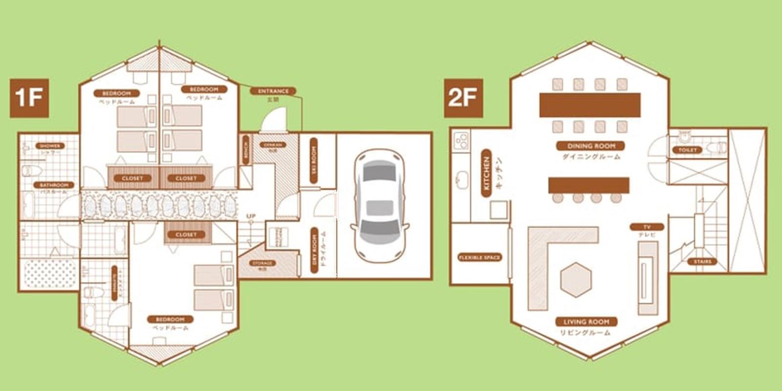 The Orchards Niseko Kuromatsu Floor Plan | St Moritz, Niseko | Ministry of Chalets