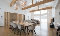 The Orchards Niseko Sawara Living and Dining Area | St Moritz, Niseko | Ministry of Chalets