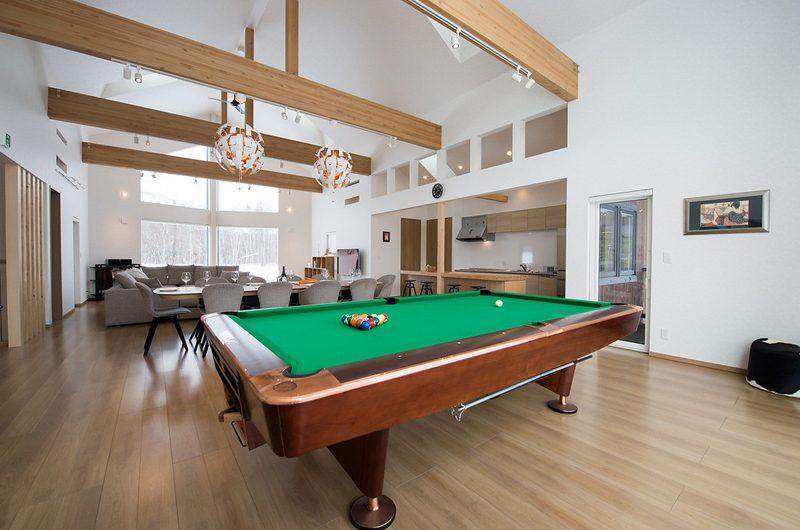 The Orchards Niseko Sawara Billiard Table | St Moritz, Niseko | Ministry of Chalets