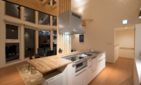 The Orchards Niseko Shion Kitchen and Dining Area | St Moritz, Niseko | Ministry of Chalets